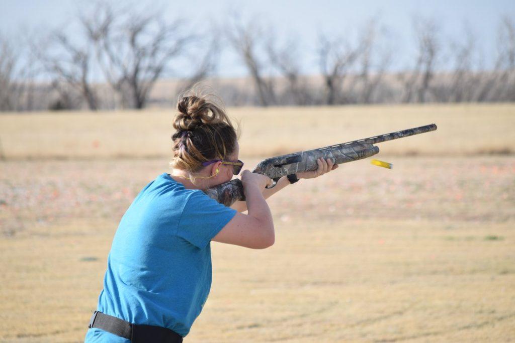 Sierra shooting shotgun
